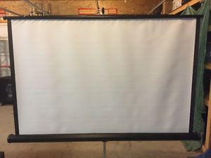 For Sale, Gently used Focus 9 4' Projection Screen