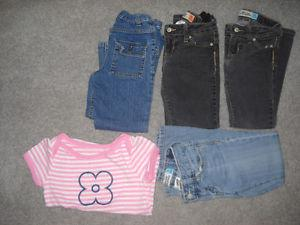Girls 5T clothing EUC
