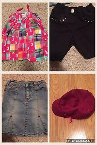 Girls brand name summer lot size 4