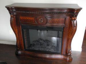 Large Stand alone Fireplace with Heater
