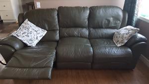 Leather living room set for sale!