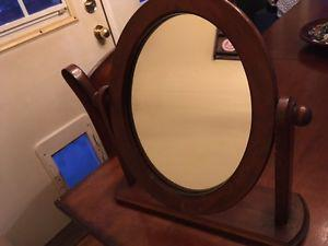 Lovely vintage wooden mirror