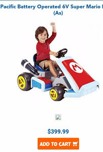 Mario Kart Ride On Deluxe (Serious inquiries only please)
