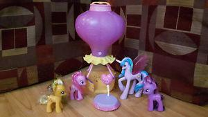 My Little Pony G4 Ponies and Hot Air Balloon- Sounds &