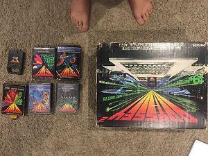 Odyssey 2 console with games all cib, bonus Vic 20