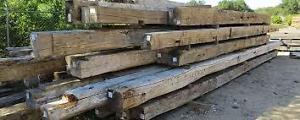 RECLAIMED LUMBER BARN BOARDS HAND HEWN BEAMS WOOD FOR SALE