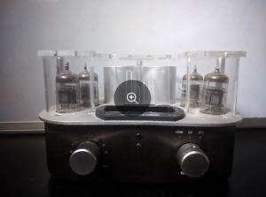 Roth Ipod Tube Amp and Blue Room speakers