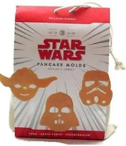 Star Wars Cookie Cutters/Pancake Moulds, NIB