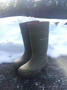 Steel Toe Dunlop Rubber Boots