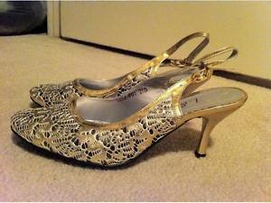 Women's High Heel Shoes- Size 7-7,5