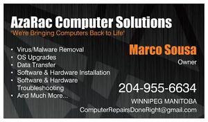 AzaRac Computer Solutions(Computer Repairs Done Right)