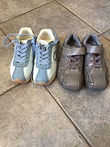 Boys sketchers and kengaroo shoes