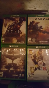 Games for sale or trade
