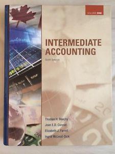 Intermediate Accounting Volume 1 Textbook
