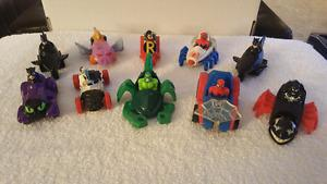 Lot of 10 Marvel McDonald's toys