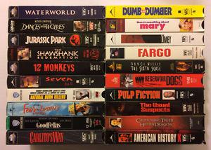 Lot of 50 VHS Movies