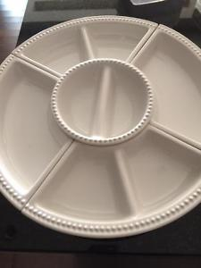 MULTI PURPOSE SERVER DISHES WITH LAZY SUSAN-NEW