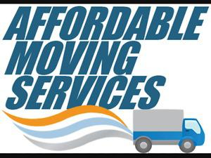 Moving services. From 50$/load.