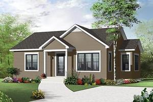 NEW $ CON 880 SQ FT BUNGALOW ON YOUR LOT