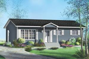 NEW $ CON 960 SQ FT BUNGALOW ON YOUR LOT