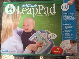 NEW LEAP FROG LITTLE TOUCH LEARNING SYSTEM 6- 36 months
