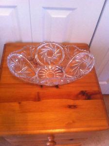 Pinwheel Crystal Bowl