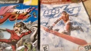 Ps2 games ssx3 & viewtiful joe