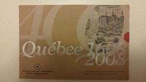 RCM Quebec 400th Anniversary Coin Collector Card