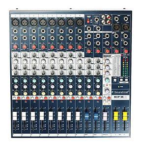 SOUNDCRAFT 8 channel MIXER W/ FX - LIKE NEW!