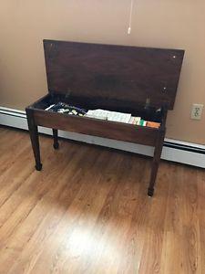 Vintage Piano Bench