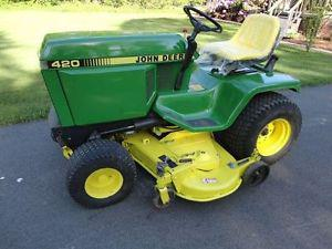 Wanted: Looking for John Deere  or 320 lawn tractor