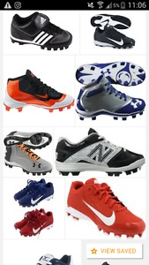 Wanted: Looking for boys cleats size 1 and size