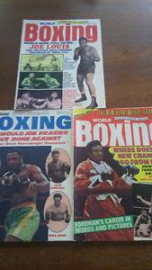 World Boxing Magazines