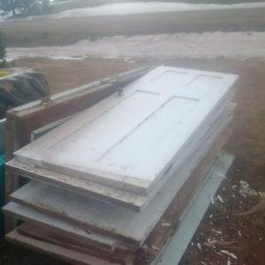 used window and doors for cabin, out building etc