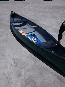 14' Old Town Canoe with paddles and life jackets