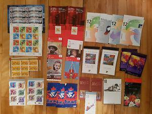 260+ unused postage stamps