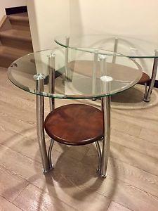 3 pc Coffee Table Set LIKE NEW