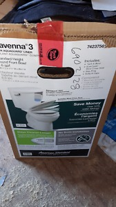American Standard toilet never out of box