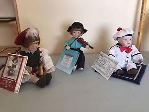 Ashton Drake galleries porcelain dolls