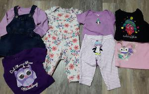 Baby girls 6 to 9 month lot
