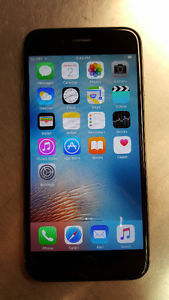 Bell / Virgin iPhone 6S 16gb, Space Gray Good Condition