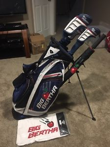 Callaway Big Bertha Package - Driver/3 wood/Fairway/Bag