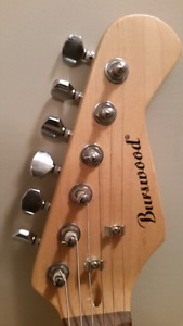 Electric Guitar with Amp and Patch Cord