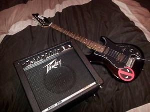 Electric guitar and amp 100$ today only!!!