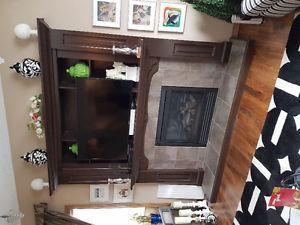 Fireplace and trims