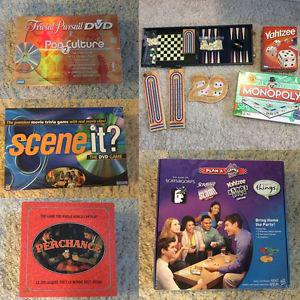 HUGE LOT OF EXCITING BOARD GAMES - NO MISSING PIECES!!