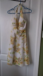 Halter style summer dress
