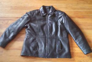 Ladies' Leather Denver Hayes Blouson with zip out liner -