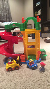 Lot of little people toys