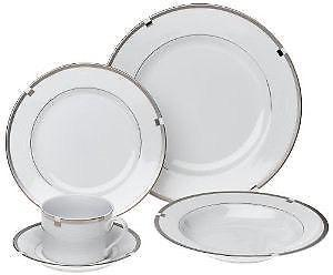 "Mikasa Fine China ""Invitation Platinum' Service for 8"